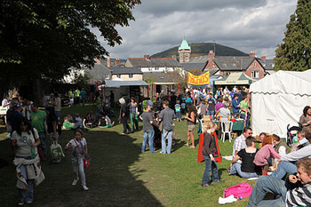 Abergavenny Food Festival - At the Castle