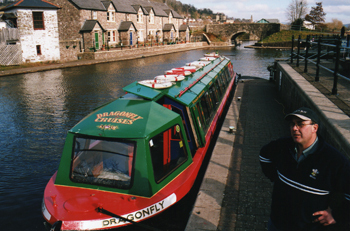 Dragonfly Cruises in Brecon