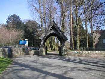 brecon Cathedral Lych gate